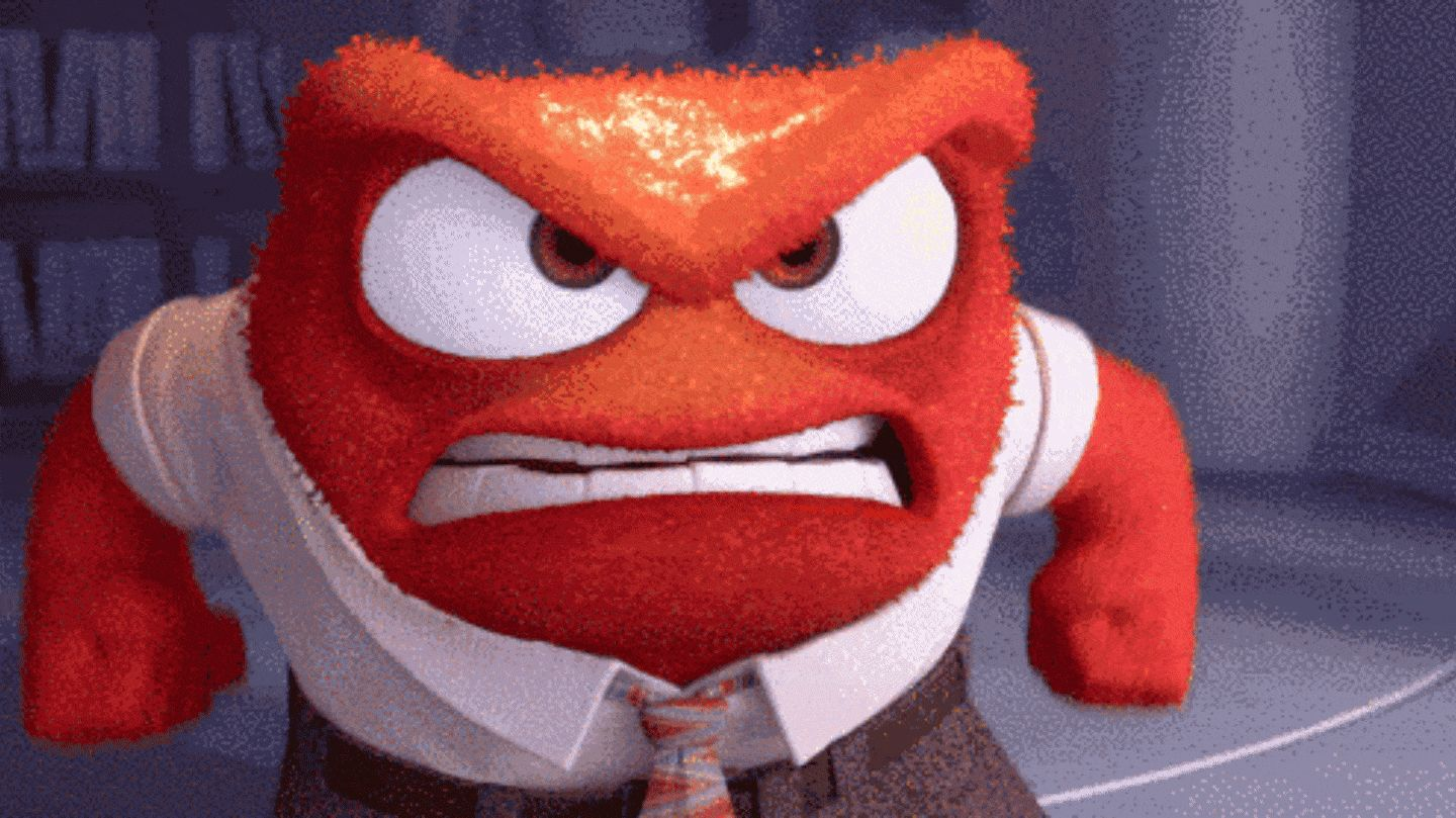 GIFs of Anger. 100 Animated Images of Negative Emotions