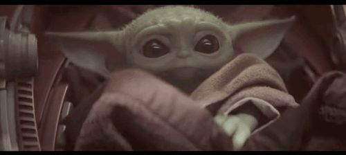 Baby Yoda GIFs. 30 Animated Images of This Cute Baby