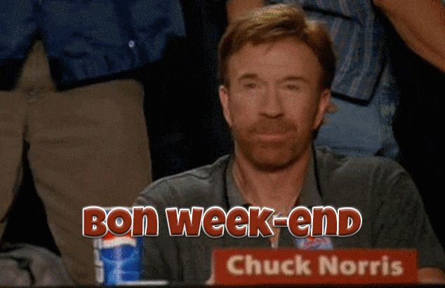 GIFs Passez un Bon week-end. 50 images animées