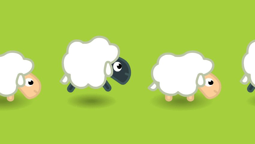 GIFs to Count Sheep and Fall Asleep Faster. 25 GIFs Against Insomnia