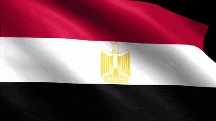 Egypt Flag GIFs. 20 Best Animated Images for Free