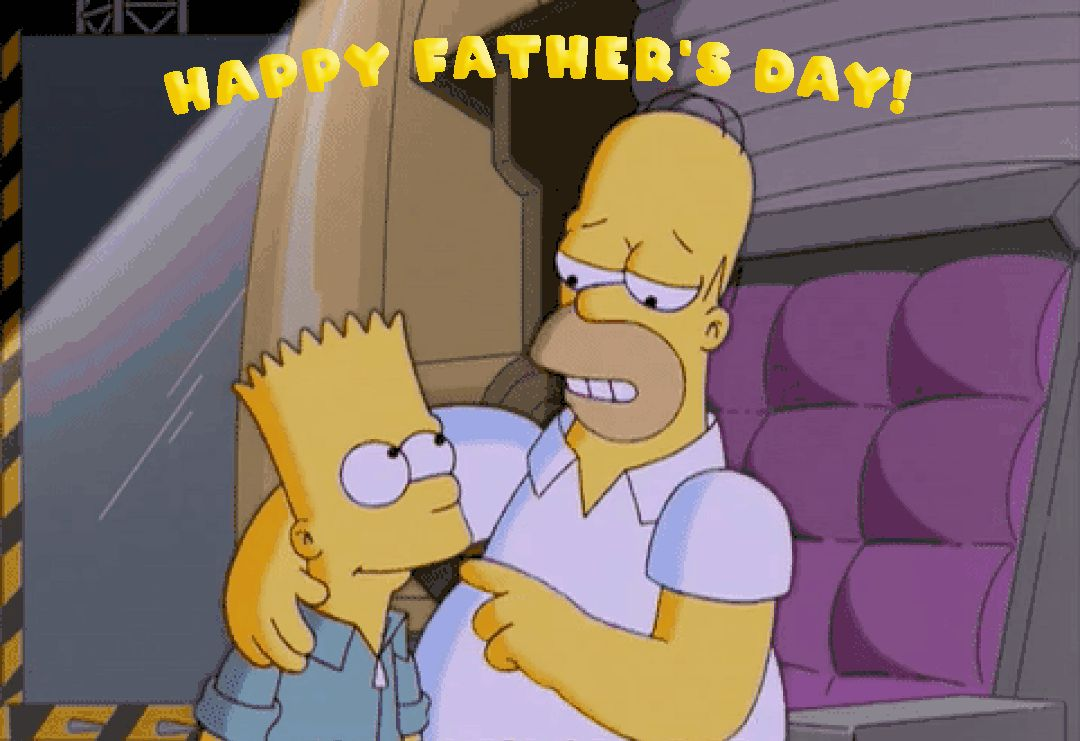 GIFs Happy Father's Day! Funny Animated Greeting Cards