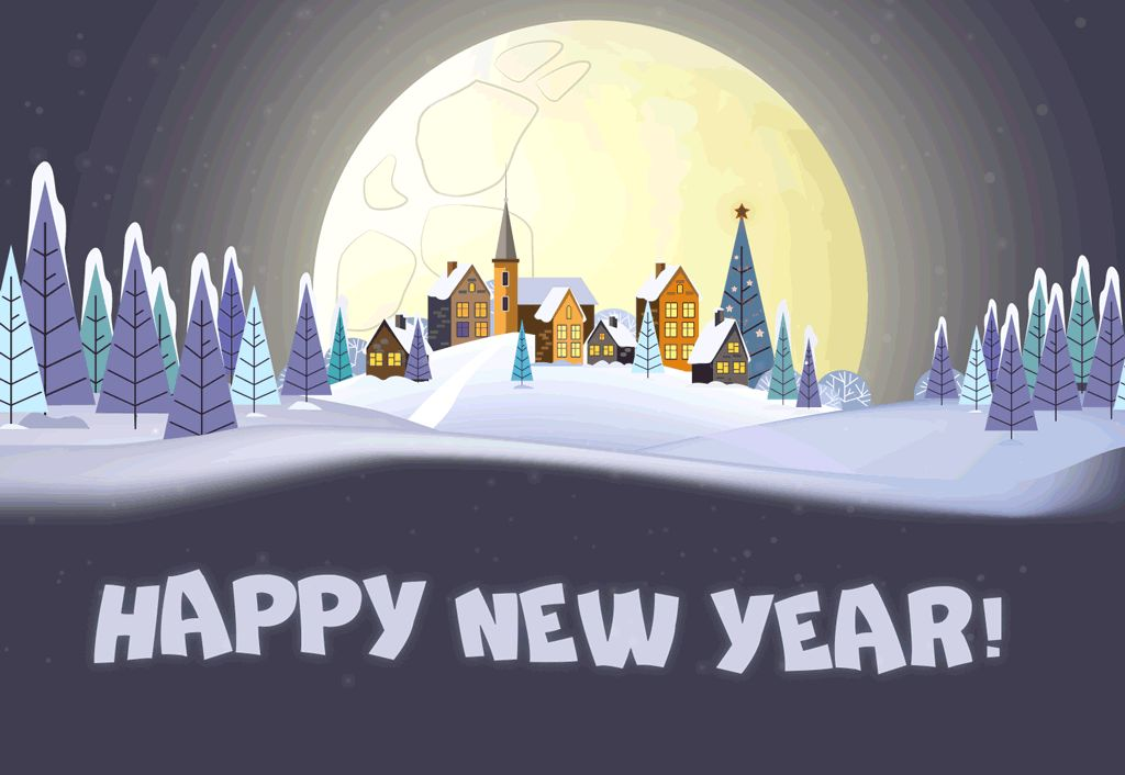 Happy New Year GIFs! Best Animated Greeting Cards