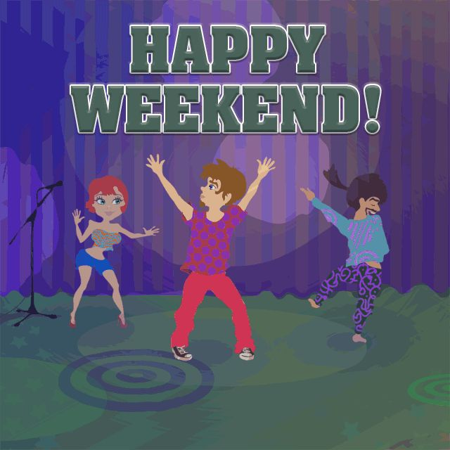 Have a Nice Weekend GIFs. 80 Animated Pictures
