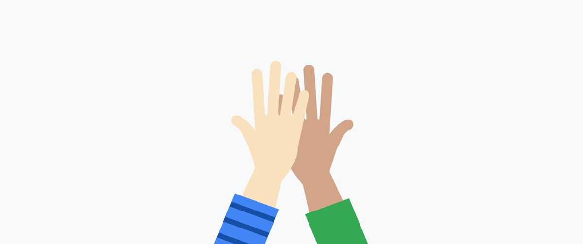 High Five GIFs. 110 Animated Images of This Gesture