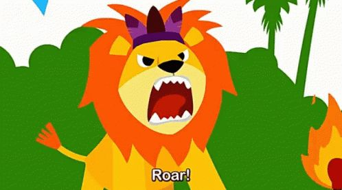 Roaring Lions GIFs. 44 Animated Images of Growling Lions
