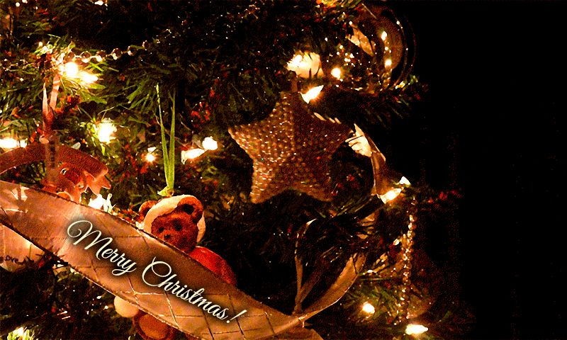 Merry Christmas GIFs. 64 Beautiful Animated Greeting Cards