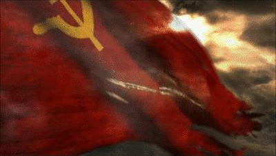 GIFs of Soviet Flag. 30 Pieces of Animated Image