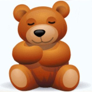 Teddy Bear Hugs on GIFs. 30 Cute Animated Images For Free