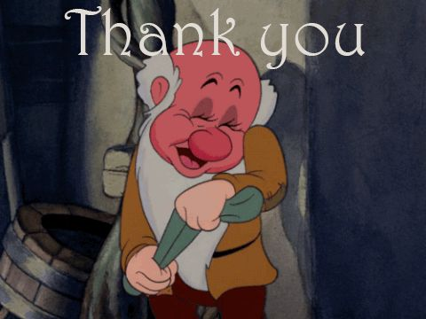 Thank You GIFs. 100 Animated Images With Caption