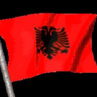 GIFs of The Albanian Flag. 20 Animated Images For Your Presentation