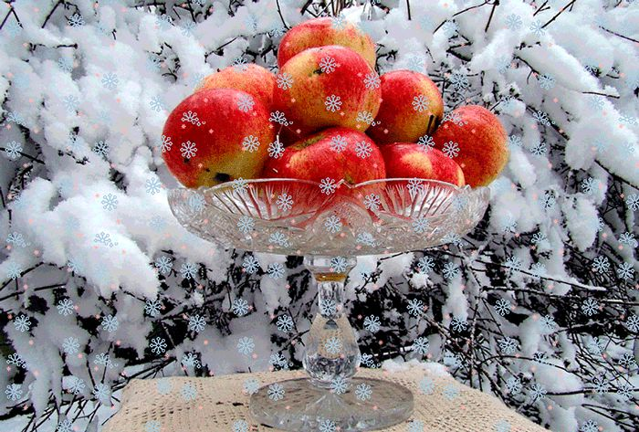 Apples GIFs. 100 Animated Images of These Wonderful Fruits