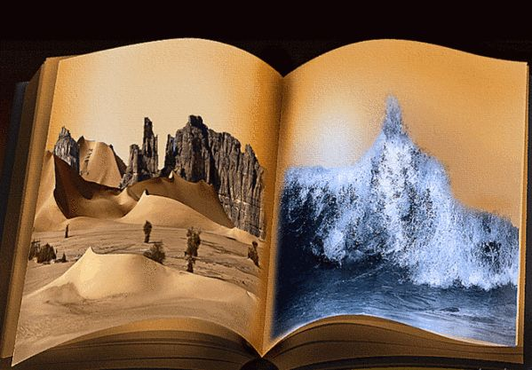 GIFs of Books. 100 Animated Images