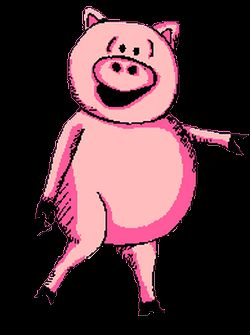 GIFs of Dancing Pigs. 57 Animated Images For Free