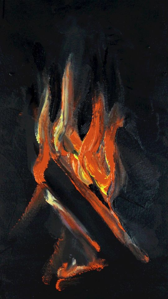 Fire on GIFs. 120 Animated Flame Images for Free!