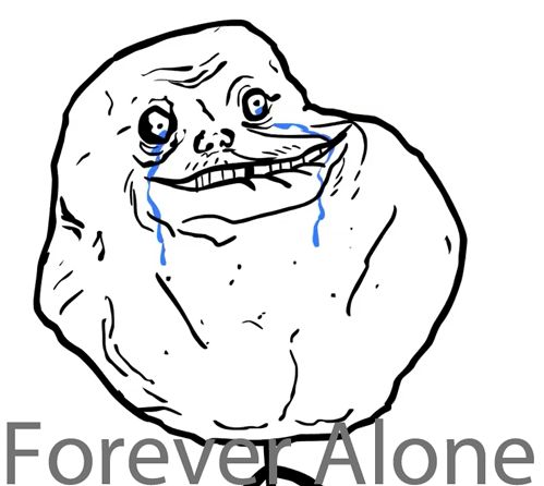Forever Alone GIFs. 20 Animated Memes and Pics of Lonely Mood