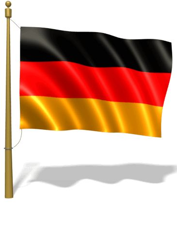 Flag of Germany on GIFs. More than 20 Animations for Free