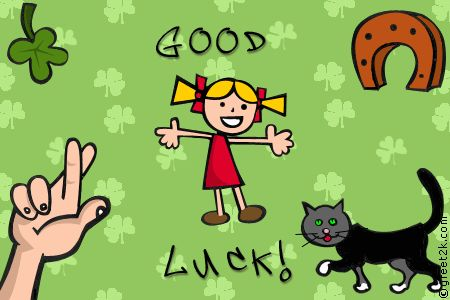 Good Luck GIFs. 105 Animated Pics to wish'em Good Luck