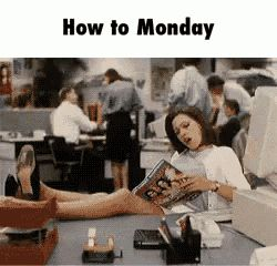 Happy Monday GIFs. 58 Funny Animated Images For Free