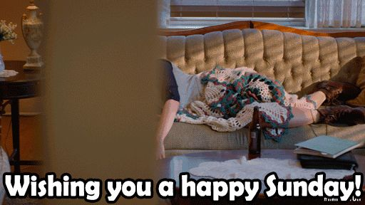 Happy Sunday GIFs. 70 Animated Pics For Your Friends And Loved Ones
