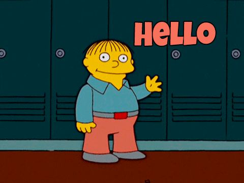 GIFs to Say Hello. 69 Animated Images of Greetings
