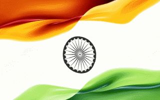 Indian flag GIFs. 30 Pieces of Animated Image for Free