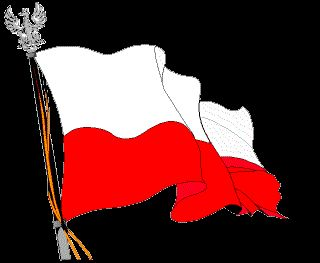 Polish Flag on GIFs. 26 Animated GIF Pics for Free
