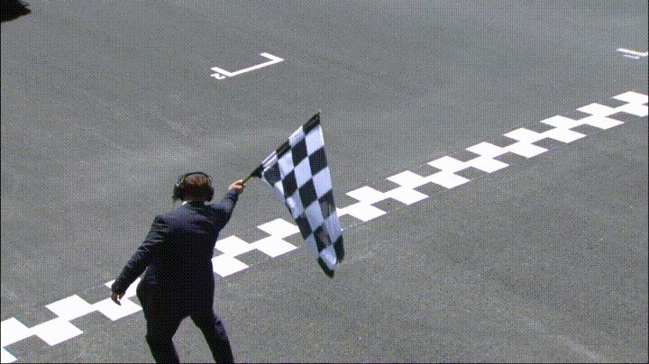 Racing Flag GIFs. 20 Checkered Flags of The End of a Race