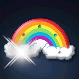 Rainbow GIFs. 120 Animated Rainbow Images for Free
