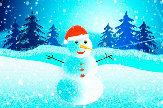 Snowman GIFs. 100 Creatures of Snow on Animated Images