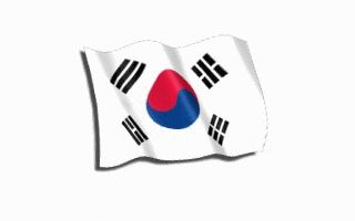 Flag of South Korea on GIFs. 23 Animated Images For Free