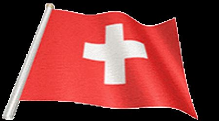 Switzerland Flag on GIFs. 30 Animated Images of a Waving Flag