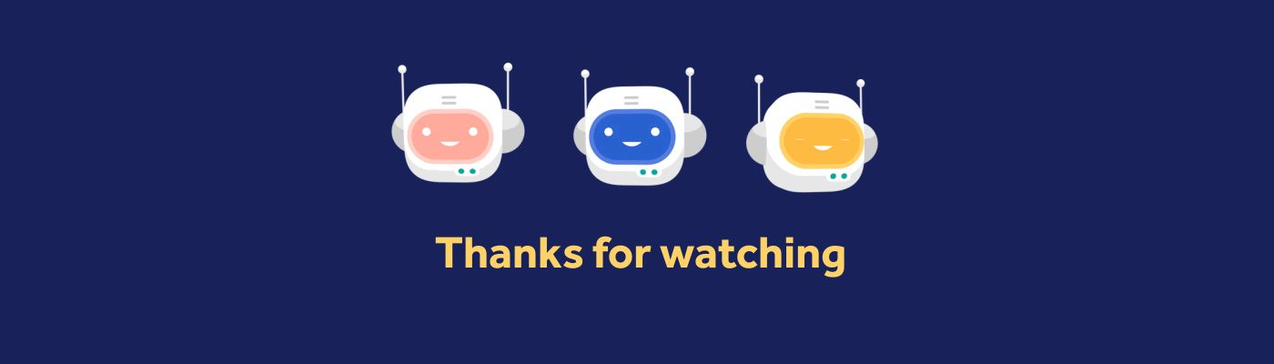 Thanks For Watching GIFs. 60 Best Animated Pics for Free
