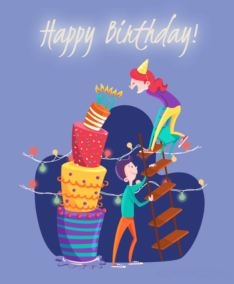Happy Birthday GIFs - Unique Birthday Cards For Everyone