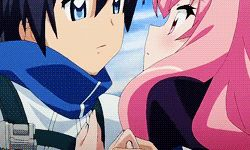 GIFs Anime Kisses. Great Collection. All Kinds of Kisses