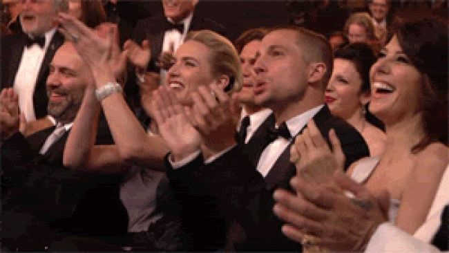 Applause GIFs. 76 Best Hand Clapping Animations