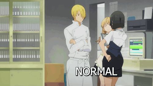 Funny Anime GIFs. 90 Pieces of Animated Images