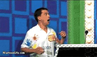 Funny GIFs Celebration, Success, Victory. 60 pieces of animated pictures