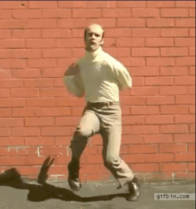 GIFs de Danses Drôles. Collection de 100 images animées