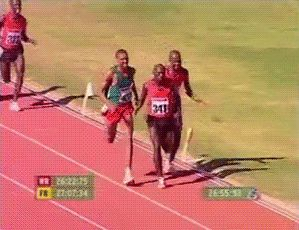 Funny Running GIFs. Rushing home, from work, to friends. 80 pcs