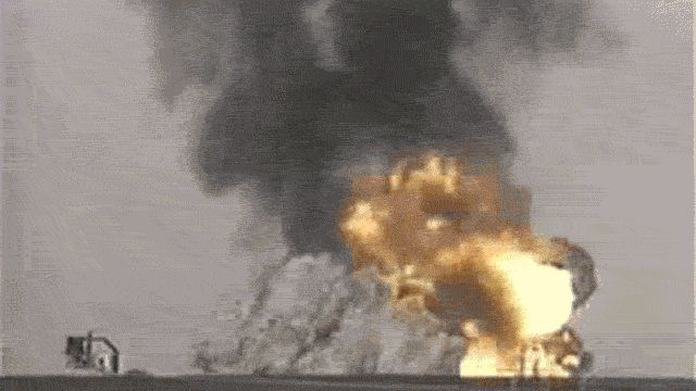 GIFs Explosions. Transparent background, nuclear explosions, bombs