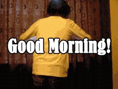 Good Morning GIFs. 160 Beautiful Animated Pictures