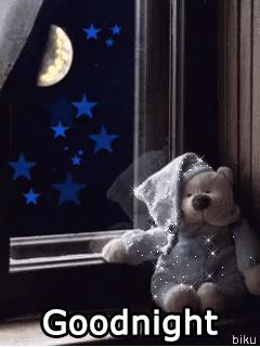 Good Night GIFs. Over 130 Pieces of Animated Wishes For Her or Him