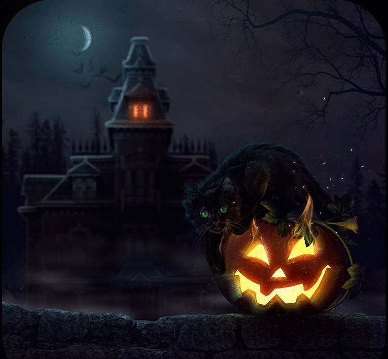 Halloween Gifs Over 100 Pieces Of Animated Image For Free