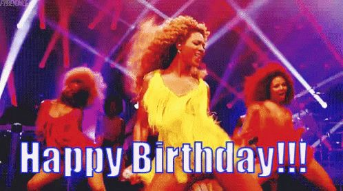 Happy Birthday GIFs for Her. 90 Pieces of Moving Images