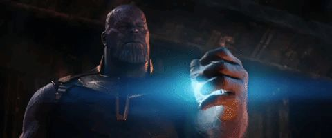 GIFs Avengers: Infinity War. 90 pieces of animated pictures from the movie