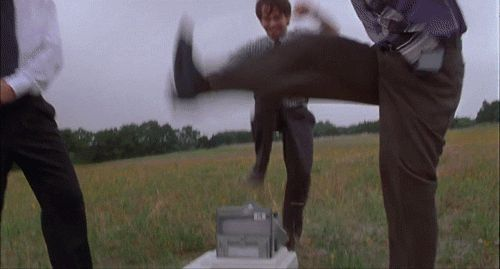 Office Space GIFs. Milton, Printer,Traffic and others. 115 pieces of animation