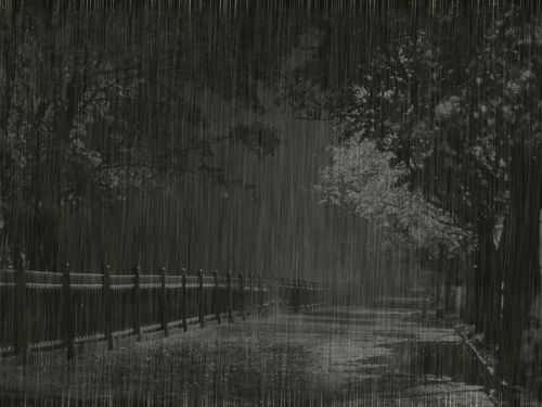 GIFs Rain. 50 Animated Pictures of Crying Heaven